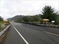 Image for South end of Klamath River Bridge Golden Bears - California