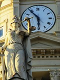 Image for Belmont County Courthouse Clock - St. Clairsville, Ohio