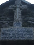 Image for WW2 Memorial, Lychgate, Eqlwys Fach, Ceredigion, Wales, UK