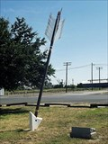 Image for Arrow to point the way on Quanah Parker Trail - Quanah, TX