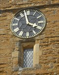 Image for Church Clock, All Saints', West Haddon, Northants.