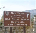 Image for Old Chief Joseph Cemetery - Nez Perce National Historical Park
