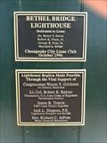 Image for Bethel Bridge Lighthouse - 1996 - Chesapeake City, MD