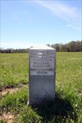 Image for 92nd Ohio  Infantry Regiment Marker - Chickamauga National Military Park