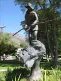 Image for Statue of Snowshoe Mailman of the Sierra - Genoa, NV