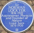 Image for Sir Norman Lockyer - Penywern Road, London, UK