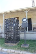 Image for Transport Jail Cell -- Old Fort Clark Guardhouse Museum, Brackettville TX