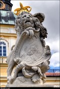 Image for Lions on New Chateau gate / Lvi na bráne Nového zámku - Horovice (Central Bohemia)