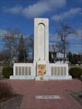 Image for WWII Memorial - Veterans Memorial Plaza - Saginaw Michigan