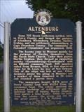 Image for Altenburg - Altenburg, MO