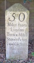 Image for Milestone - Drove Road, Tetworth, Cambridgeshire, UK.