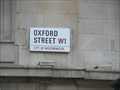 Image for Oxford street, London.