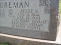 Image for Jesse B. Foreman - LAST CSA Veteran - Grady Co., OK