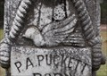 Image for Dove of Peace -- Tombstone of P. A. Puckett, Matinburg Cemetery, Pittsburg TX USA