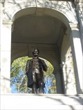 Image for Statue of Abraham Lincoln within Civil War Monument - Cambridge, MA