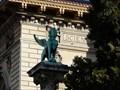 Image for Sphinxs  outside Palais de Rumine - Lausanne, Switzerland