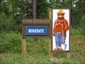 Image for Hayes Lake Smokey Bear - Roseau, Minn.