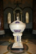 Image for Baptismal Font and Ambry -- Cathedral Basilica of St. Louis, St Louis MO