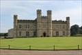 Image for Queen Catherine of Valois CoA -- Queen's Room, Leed's Castle, Kent, UK
