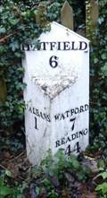 Image for Mile Stone- St Stephen's Hill, St Albans, Hertfordshire, UK.