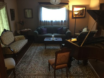 Piano / Sitting Room, Chico, California