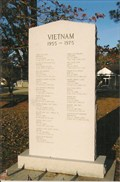 Image for Vietnam War Memorial - Courthouse lawn - Kenansville, NC, USA