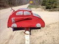 Image for Red Car Mailbox - Laketown Township, Michigan