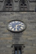 Image for Youlgreave's Church Clock, Derbyshire.