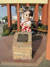 Big Boy and Plaque, Burbank, CA