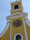 Image for Clock on St. Georgs-Pfarrkirche - Igendorf, Germany