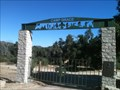 Image for Camp Grace Entrance Gate - Lost Valley, CA