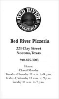 Image for Red River Pizzeria - Nocona, TX