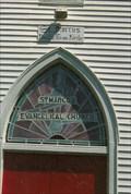 Image for Transom Window - St. Marcus Evangelical Church - Rhineland, MO