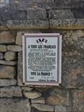Image for Affiche dite de l'Appel du 18 juin - Rom, Nouvelle Aquitaine, France
