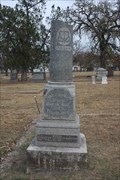 Image for Theo. D. Johnson -- Oakwood Cemetery, Fort Worth TX