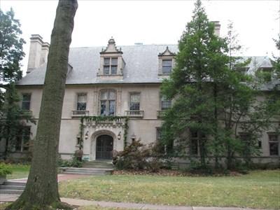 Edward Mallinckrodt Mansion- Portland and Westmoreland Places - St