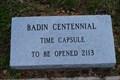 Image for Badin Centennial Time Capsule - Badin, NC, USA