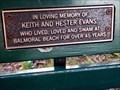 Image for Keith & Hester Evans, bench - Mosman, NSW, Australia