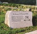 Image for Wiarton Willie Memorial - Wiarton, Ontario