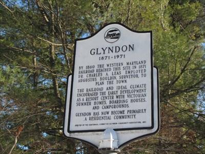 Glyndon - Maryland Historical Markers on Waymarking com