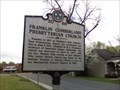 Image for Marker - Franklin Cumberland Presbyterian Church