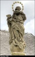 Image for Immaculata on Marian Column / Immaculata na mariánském sloupu - Mnichovo Hradište (Central Bohemia)