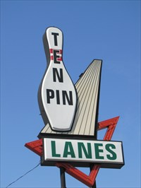 Ten Pin Lanes, Louisville, Kentucky