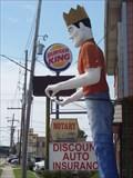 Image for Muffler Man - A King - Metairie, Louisiana