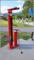 Image for Rocky Point Park Bicycle Repair Stand – Port Moody, BC, Canada
