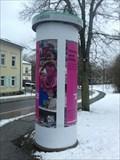 Image for Advertising Column 'Hochstraße/Schützenstraße' - Hof a.d.Saale/BY/Germany