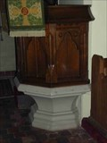 Image for Pulpit Base, St Peter's, Cookley, Worcestershire, England