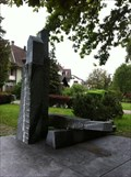 Image for Stone Sculpture in the Castle Park - Pratteln, BL, Switzerland
