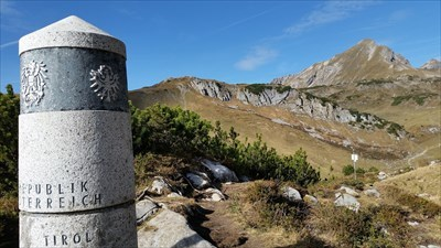 boundary pole 147 - view to Germany