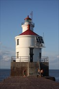 Image for Wisconsin Point Lighthouse -- Superior WI